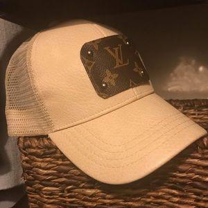 Upcycled baseball cap